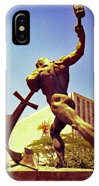 Let Us Beat Our Swords Into Plowshears IPhone Case