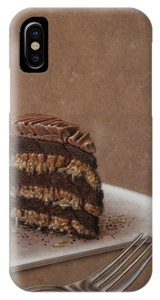 Cake iPhone Case - Let Us Eat Cake by James W Johnson