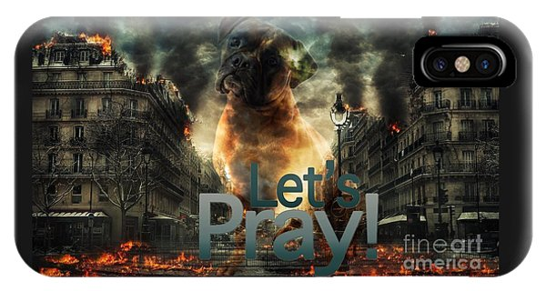 Let Us Pray-2 IPhone Case