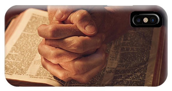 Let Us Pray And Be Thankful IPhone Case