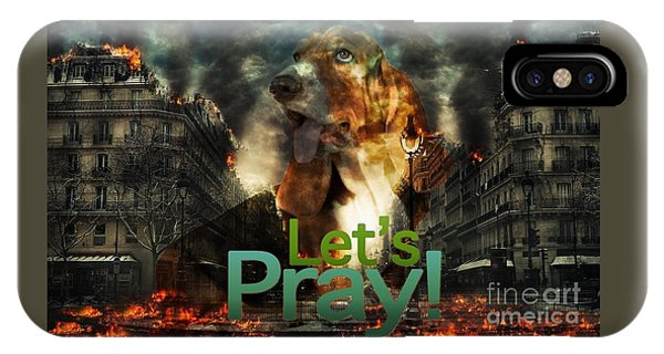 Let Us Pray IPhone Case