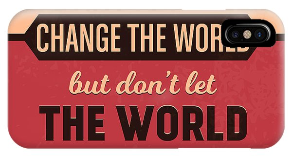 Achievement iPhone Case - Let Your Smile Change The World by Naxart Studio