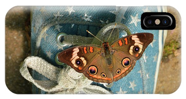 Let Your Spirit Fly Free- Butterfly Nature Art IPhone Case
