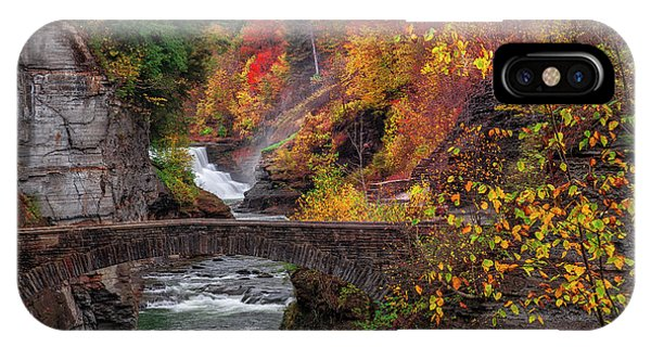 Letchworth Lower Falls IPhone Case