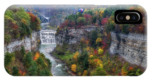 Letchworth Middle Falls IPhone Case