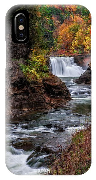 Letchworth State Park Lower Falls IPhone Case