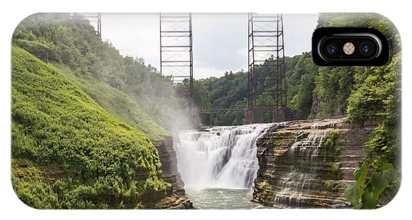 Letchworth Upper Falls IPhone Case