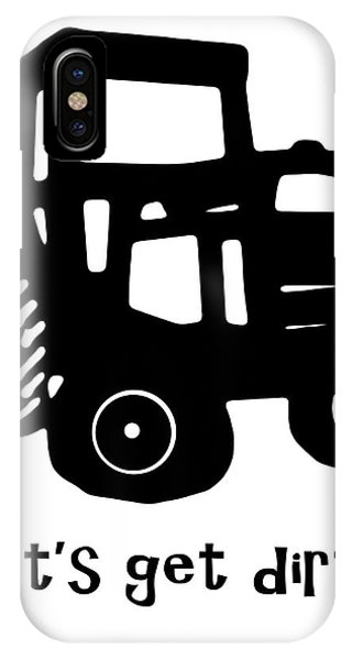 New England Barn iPhone Case - Let's Get Dirty 2 by Edward Fielding