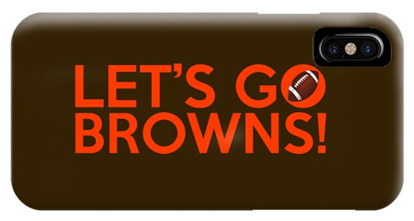 Let's Go Browns IPhone Case