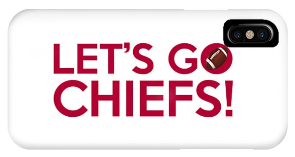 Let's Go Chiefs IPhone Case