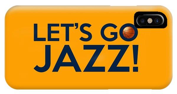 Let's Go Jazz IPhone Case