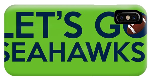 Let's Go Seahawks IPhone Case