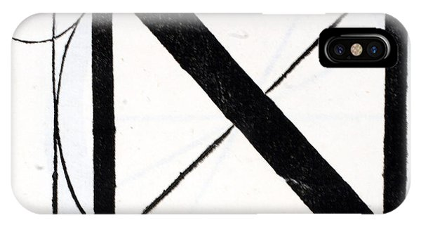 Letter N IPhone Case