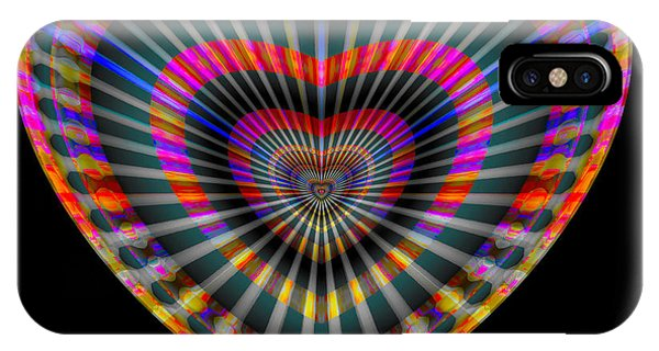 IPhone Case featuring the digital art Letty by Visual Artist Frank Bonilla