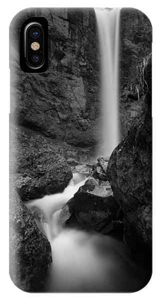 Leuenfall In Black And White IPhone Case
