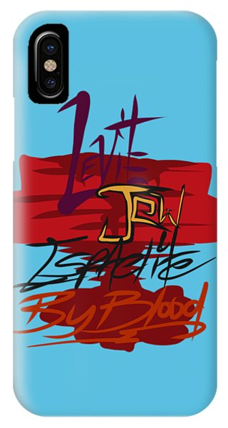 Levite By Blood IPhone Case