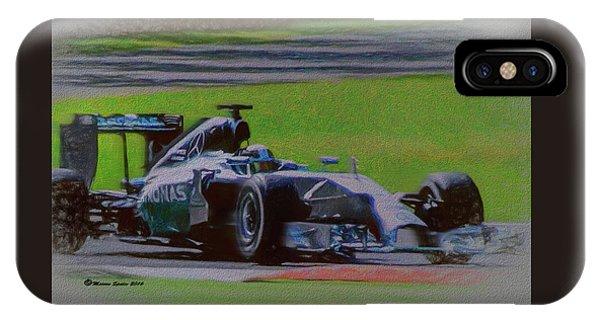 Lewis Hamilton IPhone Case