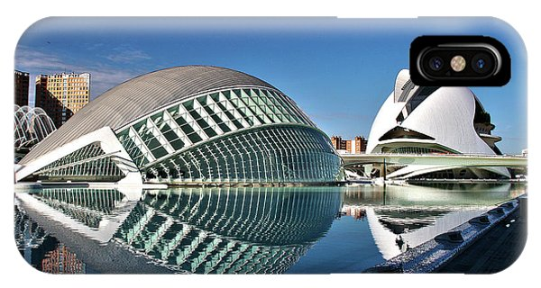 Valencia, Spain - City Of Arts And Sciences IPhone Case