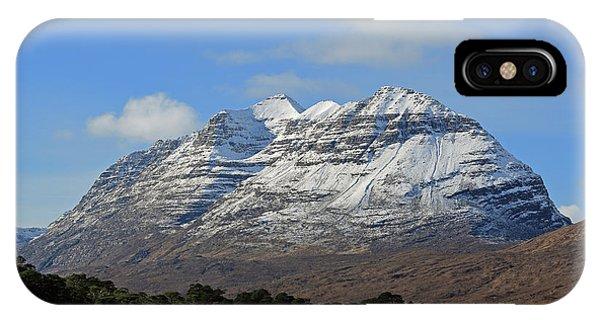 Liatach And Loch Clair IPhone Case