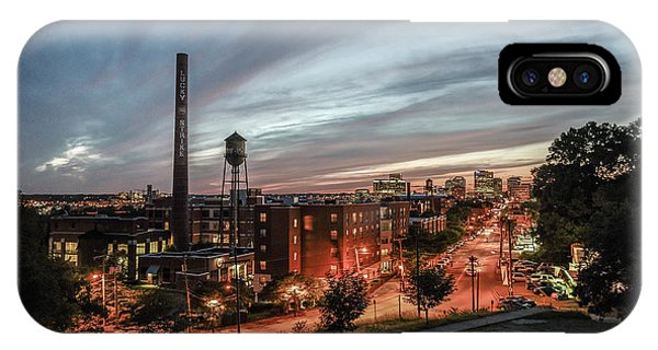 Libby Hill Post Sunset IPhone Case