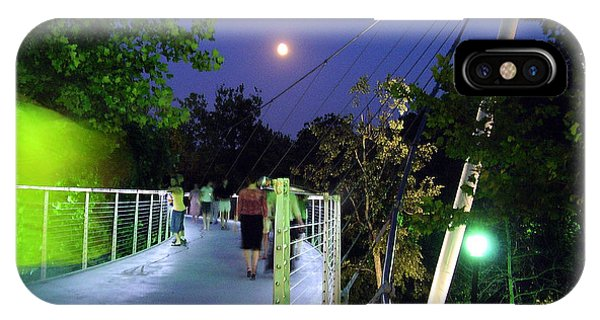 Liberty Bridge At Night Greenville South Carolina IPhone Case
