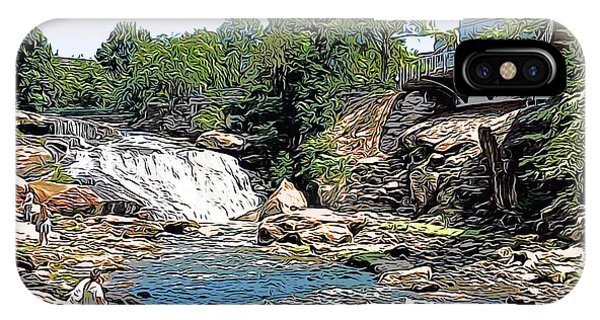 Carolina iPhone Case - Liberty Bridge by Greg Joens
