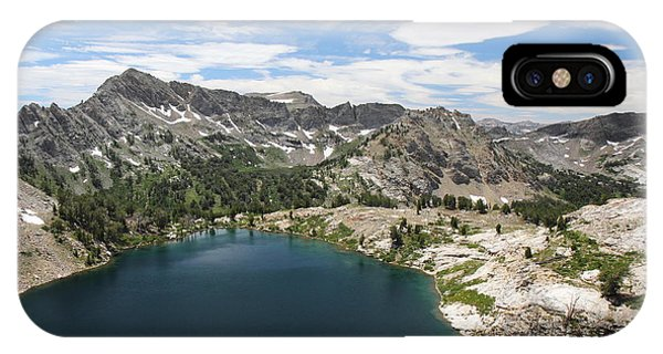 Liberty Lake At Nevada's Ruby Mountains IPhone Case