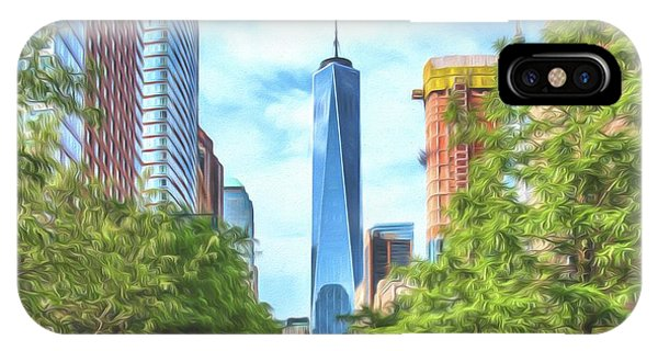 Liberty Tower IPhone Case
