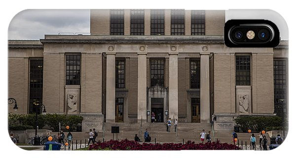 Library At Penn State University  IPhone Case