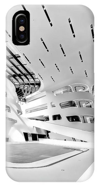 Library Interior 3 Zaha Hadid Wu Campus Vienna  IPhone Case