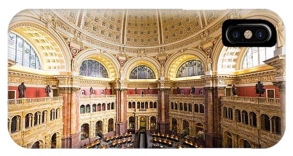 Library Of Congress I Phone Case by Robert Davis
