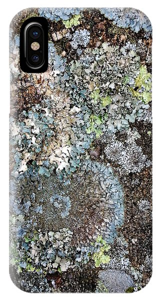 IPhone Case featuring the digital art Lichens by Julian Perry