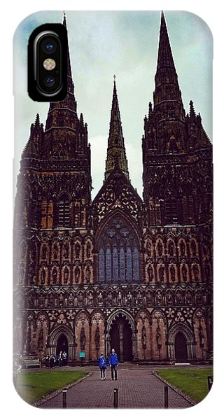 Lichfield Cathedral IPhone Case