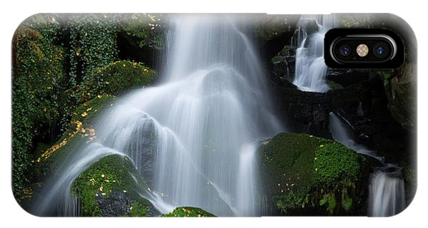 Lichtenhain Waterfall IPhone Case