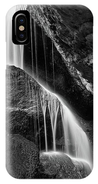 Lichtenhain Waterfall - Bw Version IPhone Case