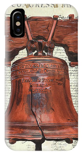 Monument iPhone Case - Life And Liberty by Debbie DeWitt