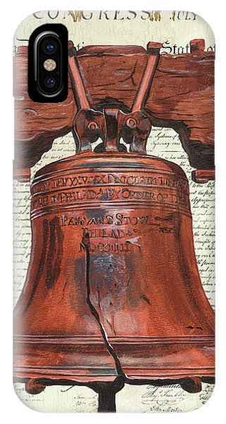 Patriot iPhone Case - Life And Liberty by Debbie DeWitt