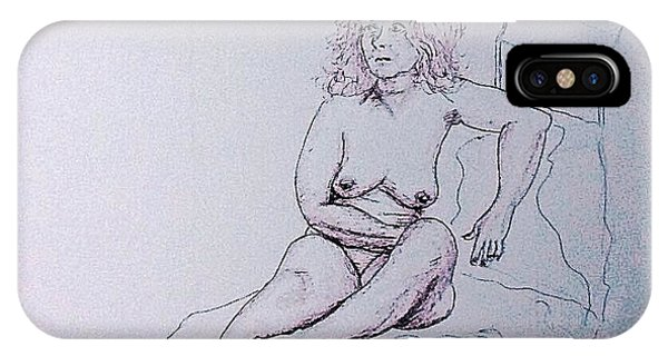 Life Drawing Nude IPhone Case