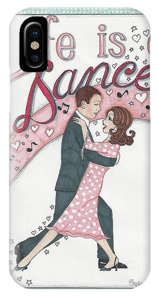 Life Is A Dance IPhone Case