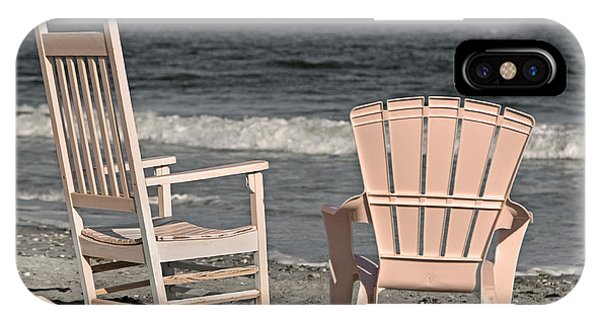 Oceanfront iPhone Case - Life Is Better At The Beach by Betsy Knapp