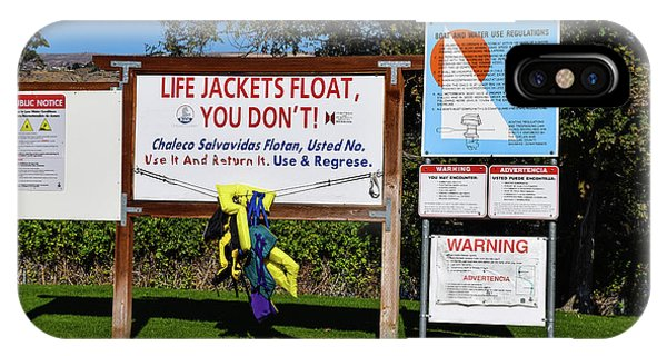 Life Jackets Float IPhone Case