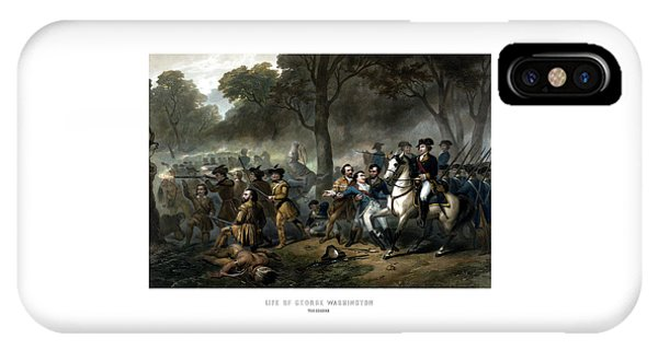 George Washington iPhone Case - Life Of George Washington - The Soldier by War Is Hell Store
