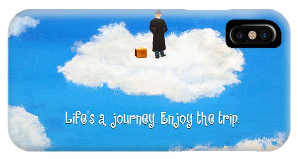 Life's A Journey Greeting Card IPhone Case
