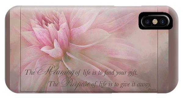Lifes Purpose IPhone Case
