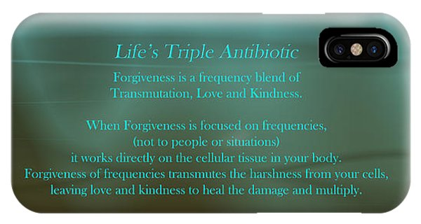 Life's Triple Antibiotic IPhone Case