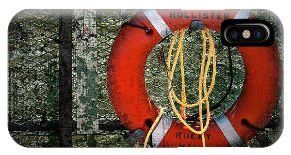 Rocky iPhone Case - Lifesaver by Evelina Kremsdorf