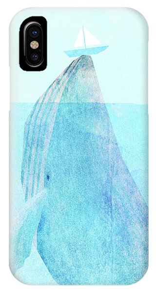 Whale iPhone Case - Lift Option by Eric Fan