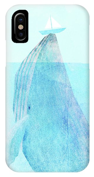 Whales iPhone Case - Lift Option by Eric Fan