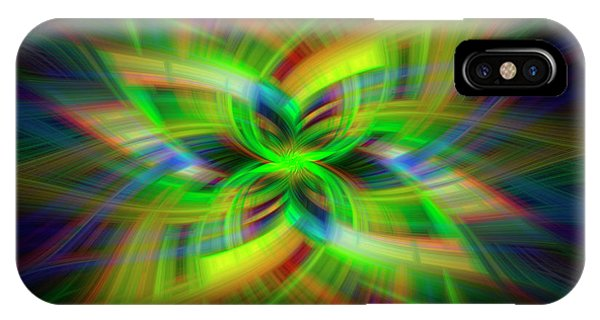 Light Abstract 1 IPhone Case