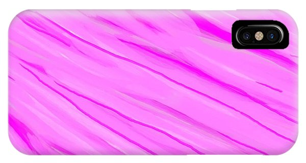 Light And Dark Pink Swirl IPhone Case